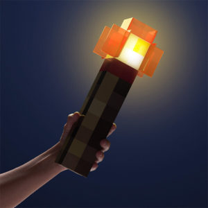 Minecrafters! Line up and light up!
