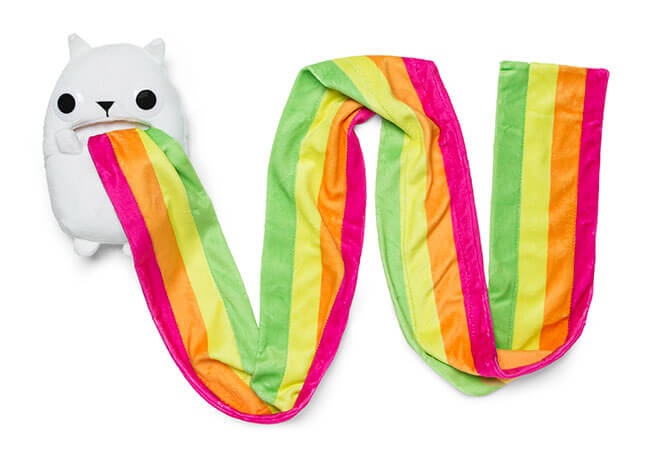 Cats can be cute to a cat-lover, but what about exploding cats that throw up rainbows faster than a unicorn can run with one in tow?
